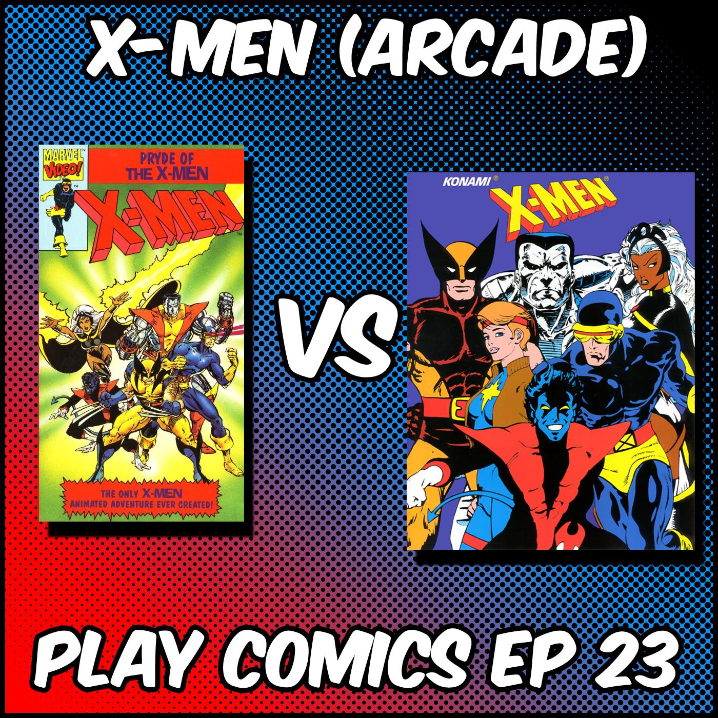 X-Men Arcade with John Horsley and Kenric Regan