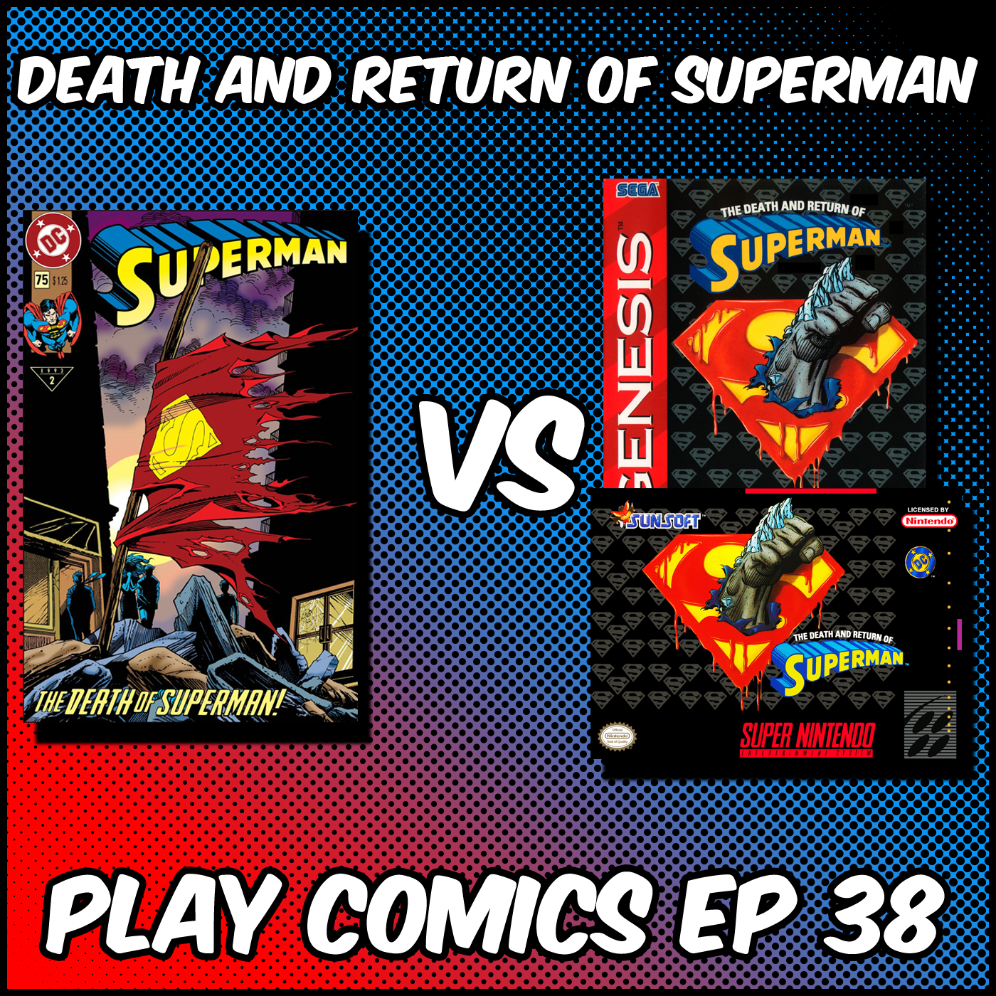 Death and Return of Superman with Michael Bailey (The Fortress of Baileytude Podcast Network)