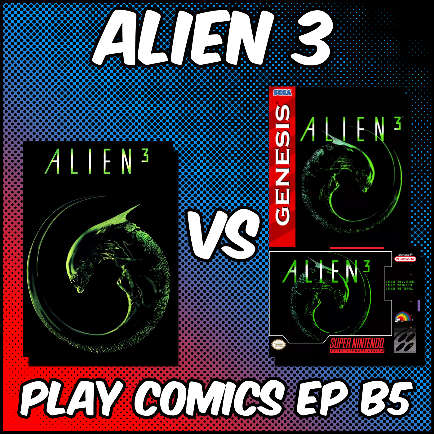 Alien 3 (April Fools) with Keith Gawla (Pop Up Film Cast)